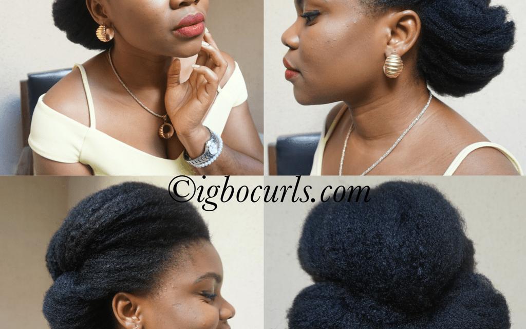 Wedding Hair Inspiration for Natural Hair 2