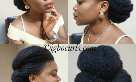 Wedding Hair Inspiration for Natural Hair 2