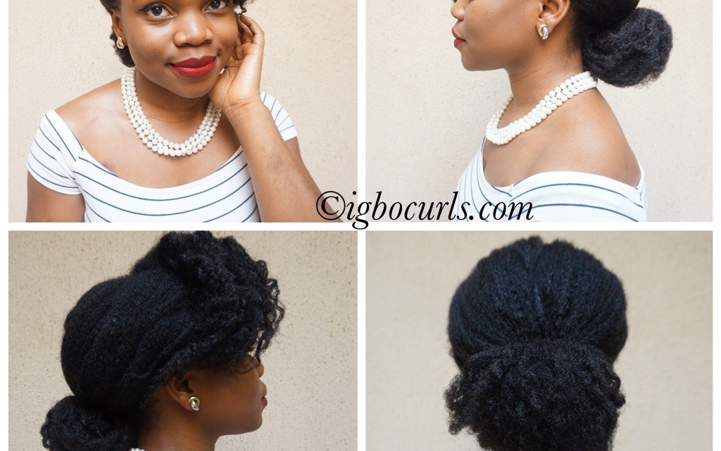 2 Simple Holiday Hairstyles for Natural Hair