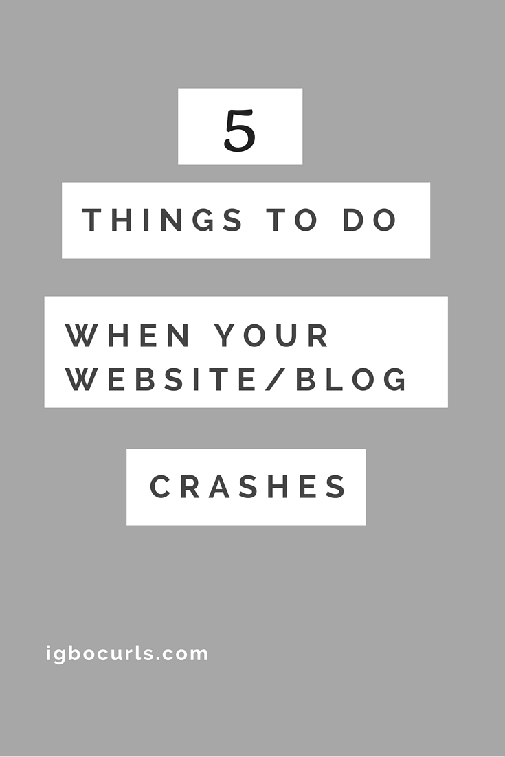 Thingsto-do-1 5 Things To Do When Your Website/Blog Crashes