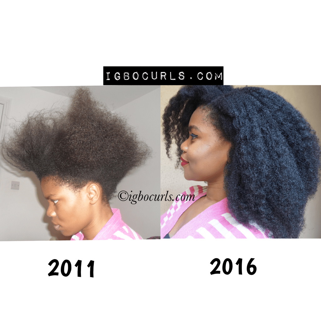 How To Grow Natural Hair In Nigeria