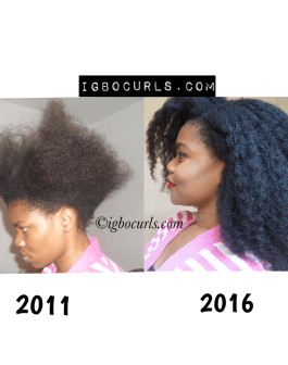 Unhealthy Relaxed Hair to Healthy Natural Hair