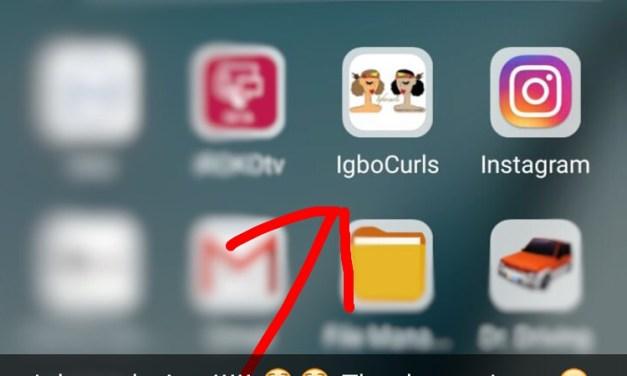 Igbocurls App is Here!