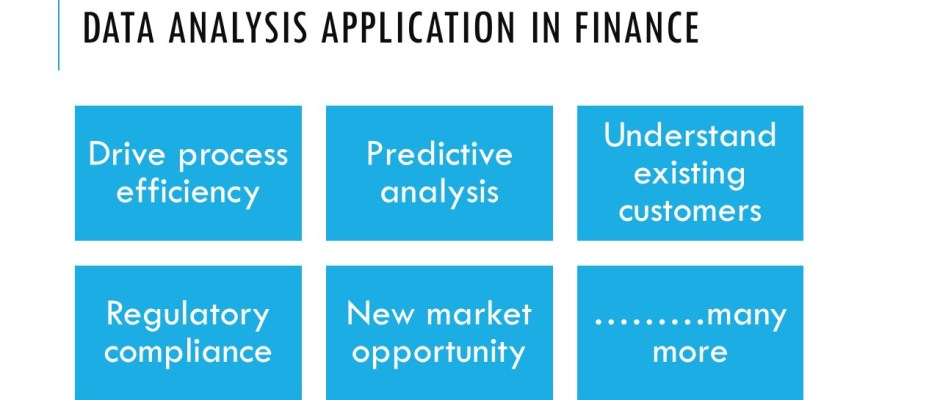data analysis for finance