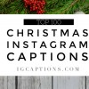 christmas instagram captions