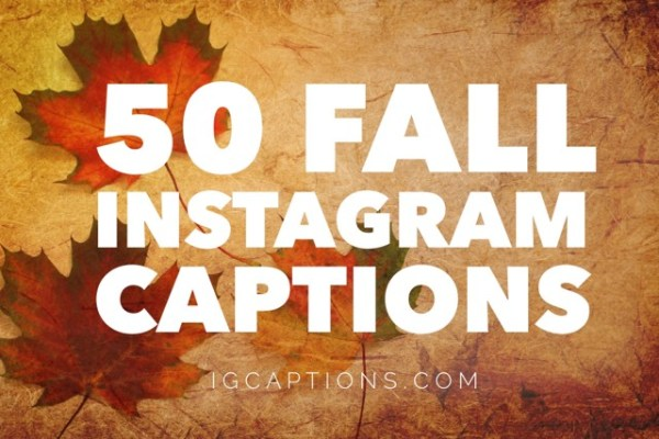 fall instagram captions