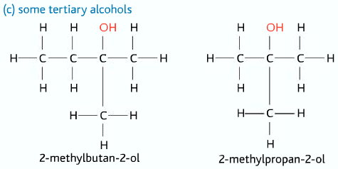 tertiary alcohols