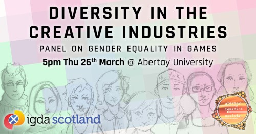 Diversity in the Creative Industries Banner