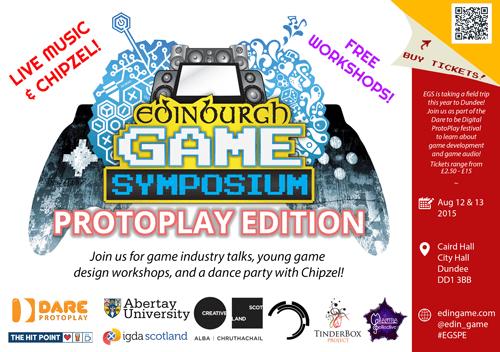 Edinburgh Game Symposium: ProtoPlay Edition poster v2