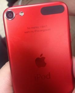 iPod Engraving
