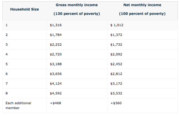 """Georgia food stamps income chart"""