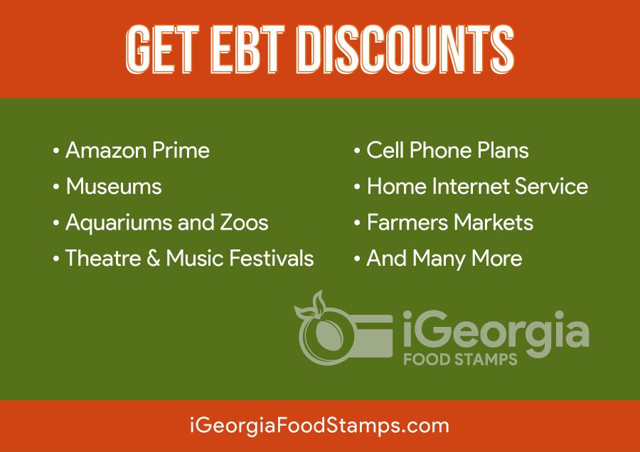 Georgia EBT Discounts and Perks 2019 - Georgia Food Stamps Help