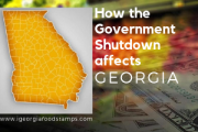 Georgia Food Stamps Affected by the Government Shutdown
