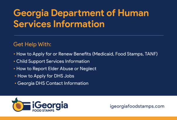 """Georgia Department of Human Services Information"""