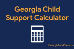 """Georgia child support calculator 2019"""