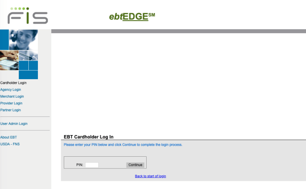 """EBT EDGE Login"""