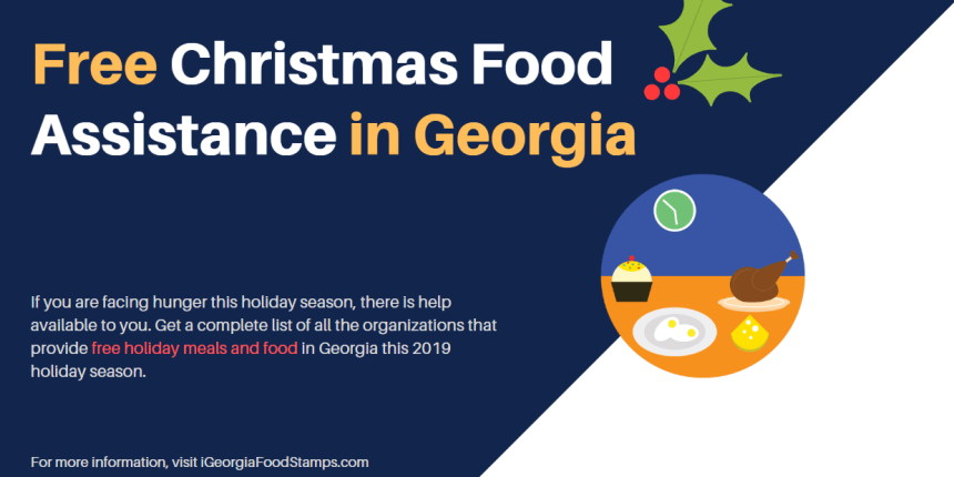 Free Christmas Food Assistance in Georgia