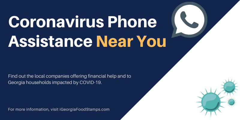 Coronavirus Phone Assistance in Georgia