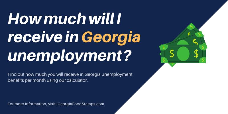 Georgia Unemployment Calculator