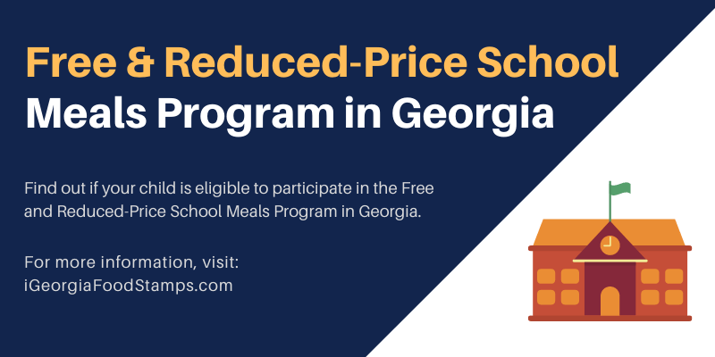 Free and Reduced-Price School Meals Program in Georgia