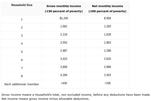 """Georgia SNAP Income Limits"""