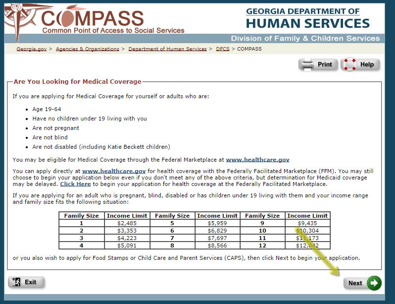 image relating to Printable Food Stamp Application named Comp Georgia Gov Meals Stamp Software Ga Foodstuff Stamps Assistance