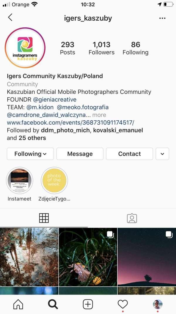 igerskaszub -instagram spoleczność kaszuby