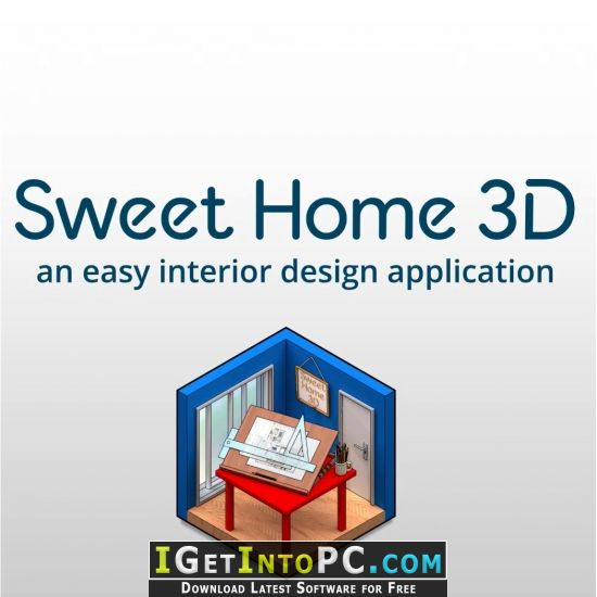 If you are new in the subject of 3d design. Sweet Home 3d 6 Free Download