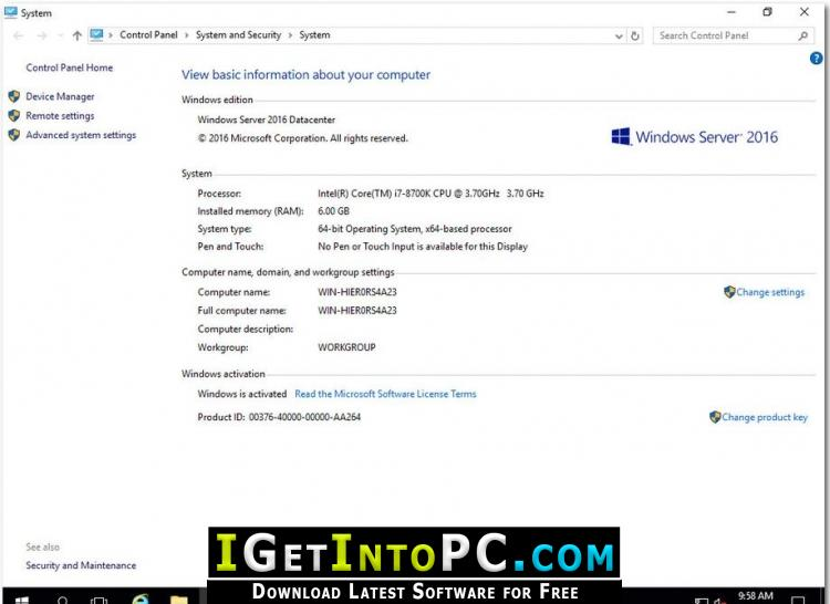 make bootable usb windows server 2016