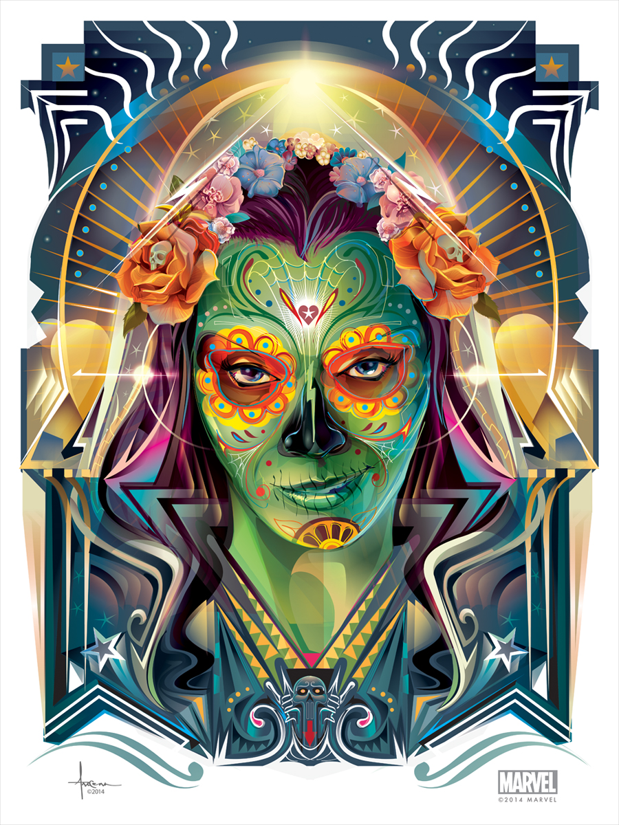 Orlando Arocena - GUARDIANS OF THE GALAXY DIA DE LOS MUERTOS