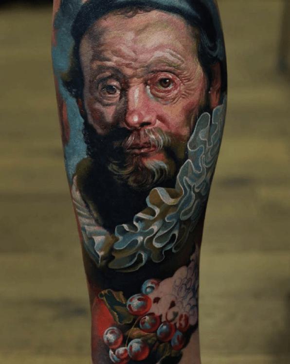 Denis Sivak - Rembrandt Oil painting