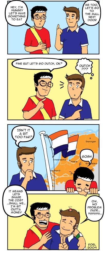 Go Dutch