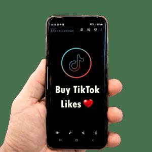 Buy TikTok Likes-Product, igfollowers.uk