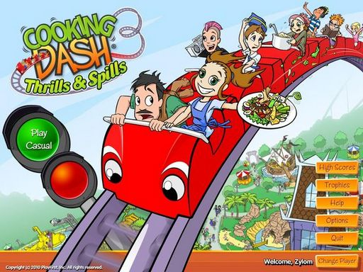 Cooking Dash 3: Thrills and Spills Free Download