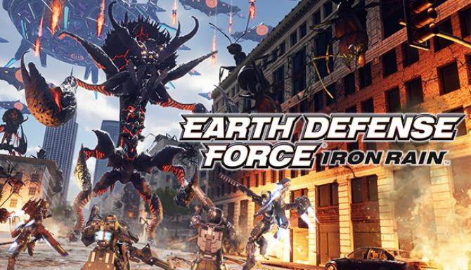 EARTH DEFENSE FORCE: IRON RAIN Free Download