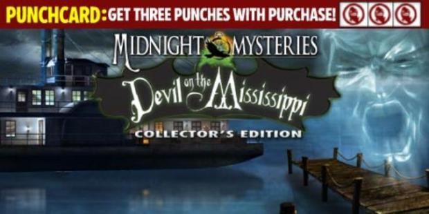 Midnight Mysteries 3: Devil on the Mississippi Collector's Edition Free Download