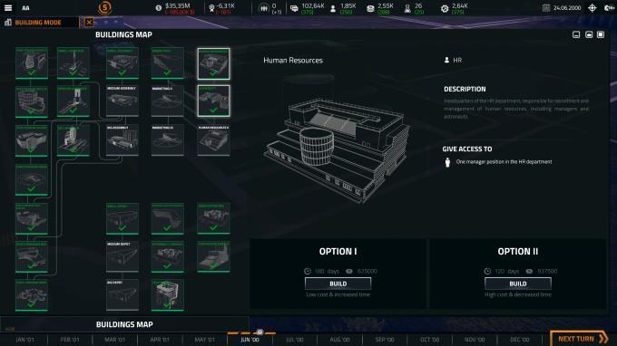 Uzay Şirketi Simülatörü PC Çatlak
