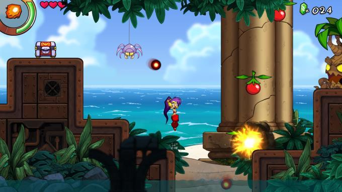 Shantae ve Yedi Siren Torrent İndir