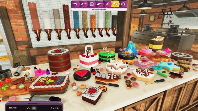 Yemek Simülatörü - Kekler ve Kurabiye Torrent İndir