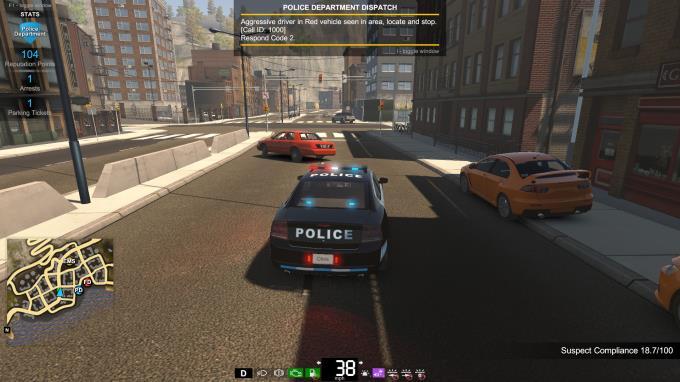 Yanıp Sönen Işıklar - Polis, İtfaiye, Acil Servis Simülatörü Torrent İndir