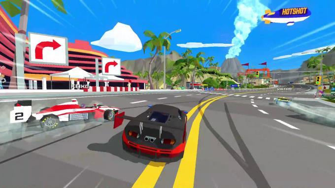 Hotshot Racing Torrent İndir