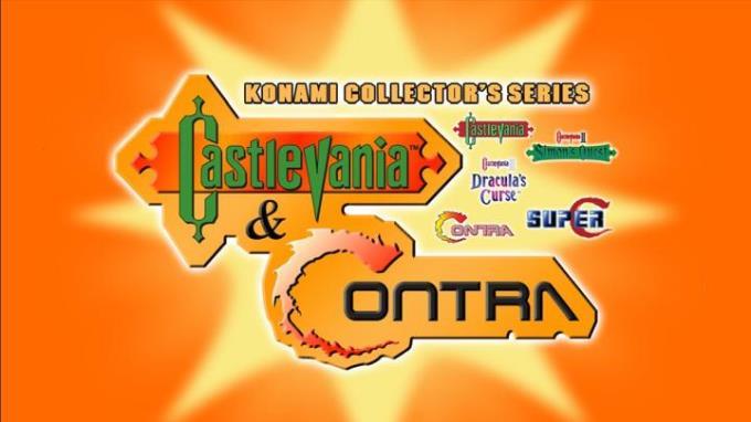 Konami Collectors Series Castlevania ve Contra Ücretsiz İndirin