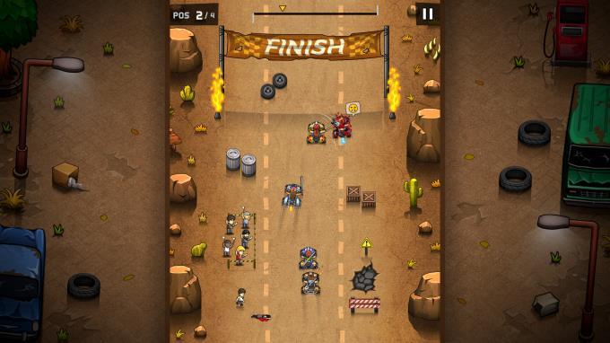 Rude Racers: 2D Combat Racing PC Crack
