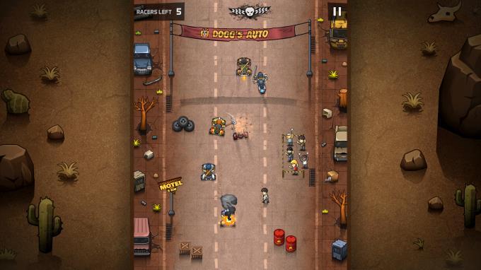 Rude Racers: 2D Combat Racing Torrent İndir