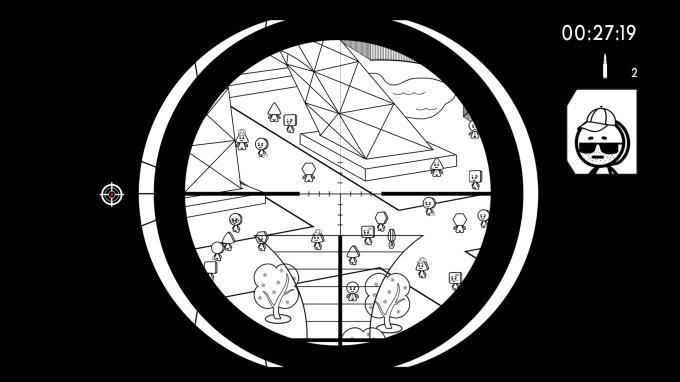 Geometric Sniper - Blood in Paris PC Crack