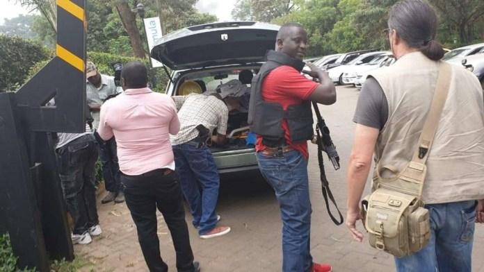 Abari muri iyo hotel bahise bahabwa ubutabazi bw'ibanze