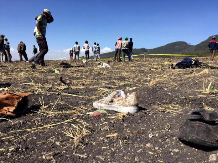 Impanuka y'indege ya Ethiopian Airlines yahitanye abantu 157 bose bari bayirimo
