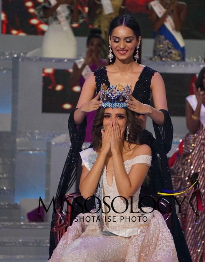 Vanessa Penco yambikwa ikamba rya Miss World 2018