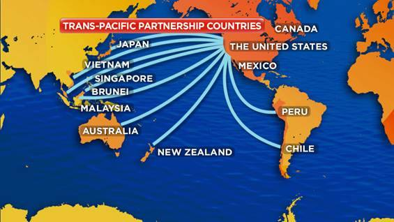 Dampak Kemitraan Trans Pasifik Layu Sebelum Berkembang