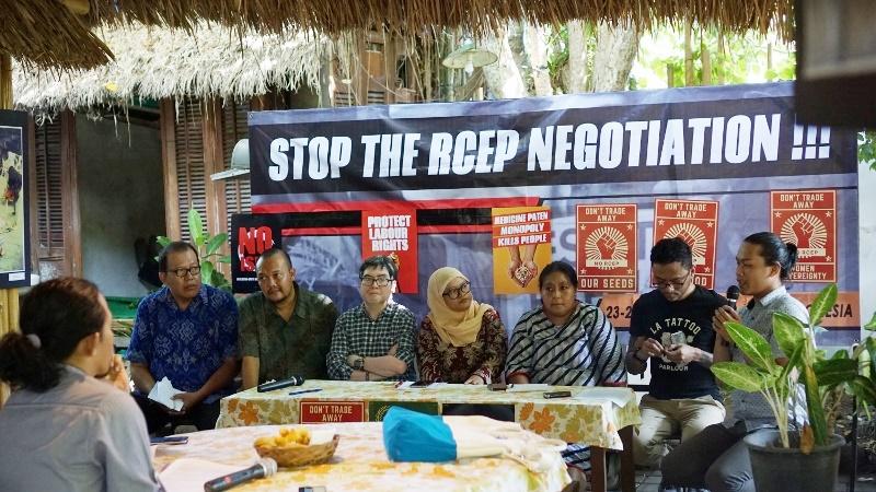 Siaran Pers Masyarakat Sipil Desak Negara untuk Tidak Menyepakati RCEP